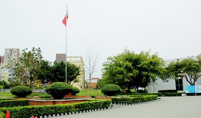 中国五冶高级技工学校龙泉校区校园环境