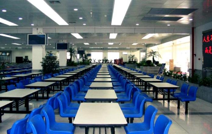 中国五冶高级技工学校龙泉校区食堂